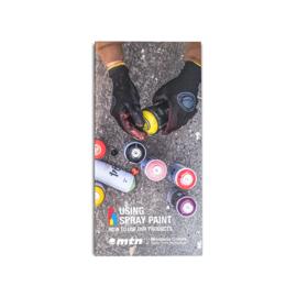 MTN Folder Using Spray Paint