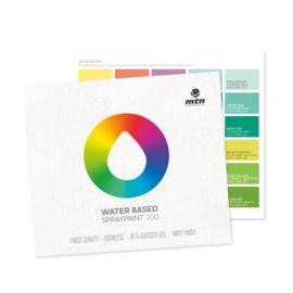 MTN Water Based Kleurenkaart