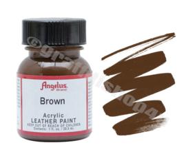 Angelus Leerverf 29ml Brown
