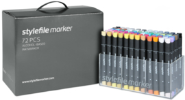 Stylefile Markers Main Kit A 72 stuks
