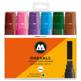 Molotow 627HS Basic Set2  6st.