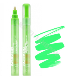 Montana Acrylic Marker  2mm F6000 Acid Green
