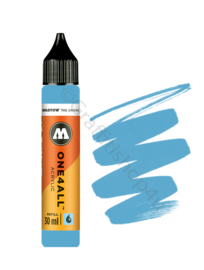 One4All refill 30ml Shock Blue Middle