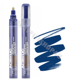 Montana Acrylic Marker  2mm SH5020 Blue Dark
