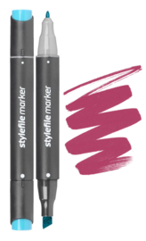 Stylefile Marker  Wine Red