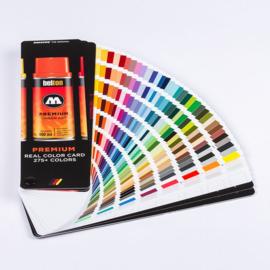 Molotow Premium Colorchart