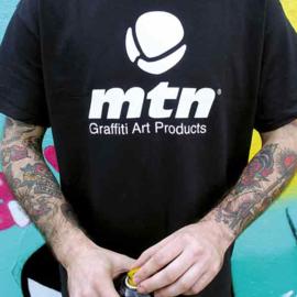 MTN T-Shirt Basic Logo Front Black