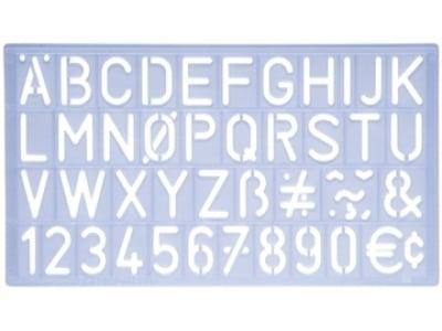 Helix Lettersjabloon 30mm
