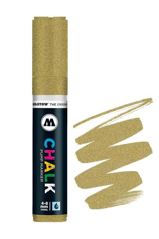 Molotow Chalk Marker 4-8mm Goud
