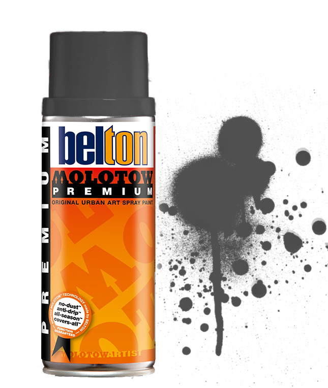 Molotow Premium  Black Grey Middle