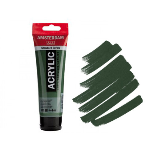 Amsterdam Acryl 120ml Olive Green Deep