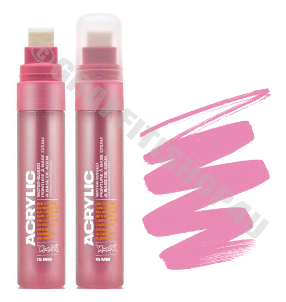 Montana Acrylic 15mm Shock Pink Light