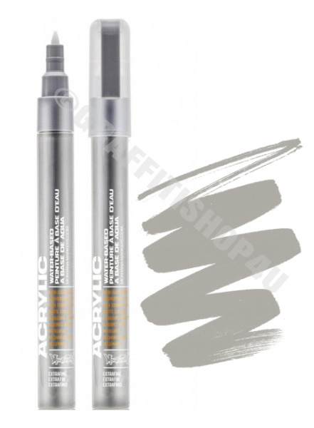 Montana Acrylic Marker 0,7mm 7030 Iron Curtain