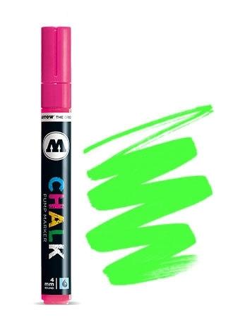 Molotow Krijt Marker 4mm Fluor Groen