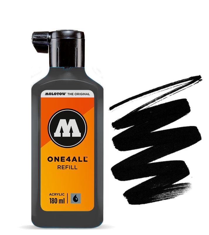 Molotow refill 180ml Signal Black
