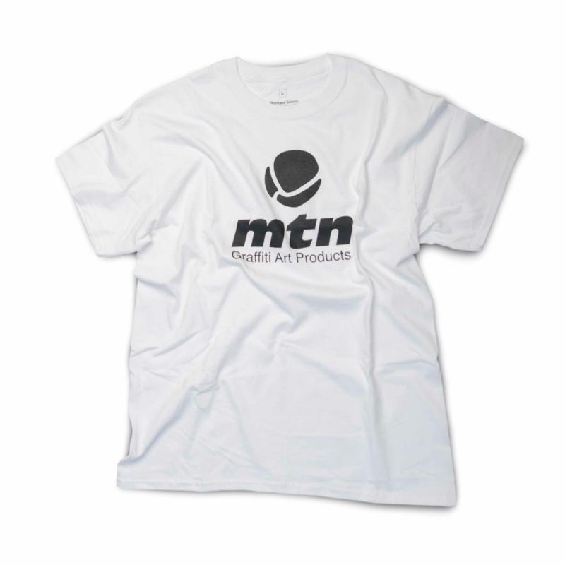 MTN T-Shirt  Basis Logo Front White
