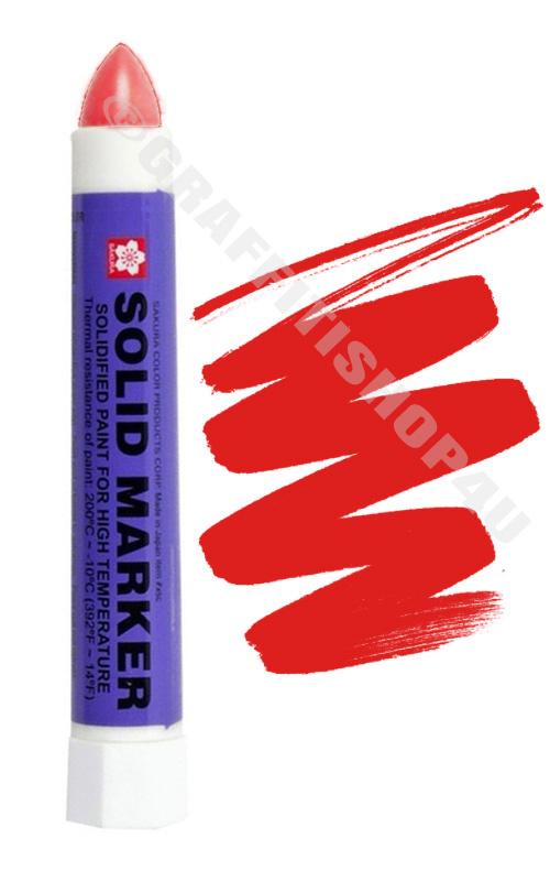 Sakura Solid Marker Red