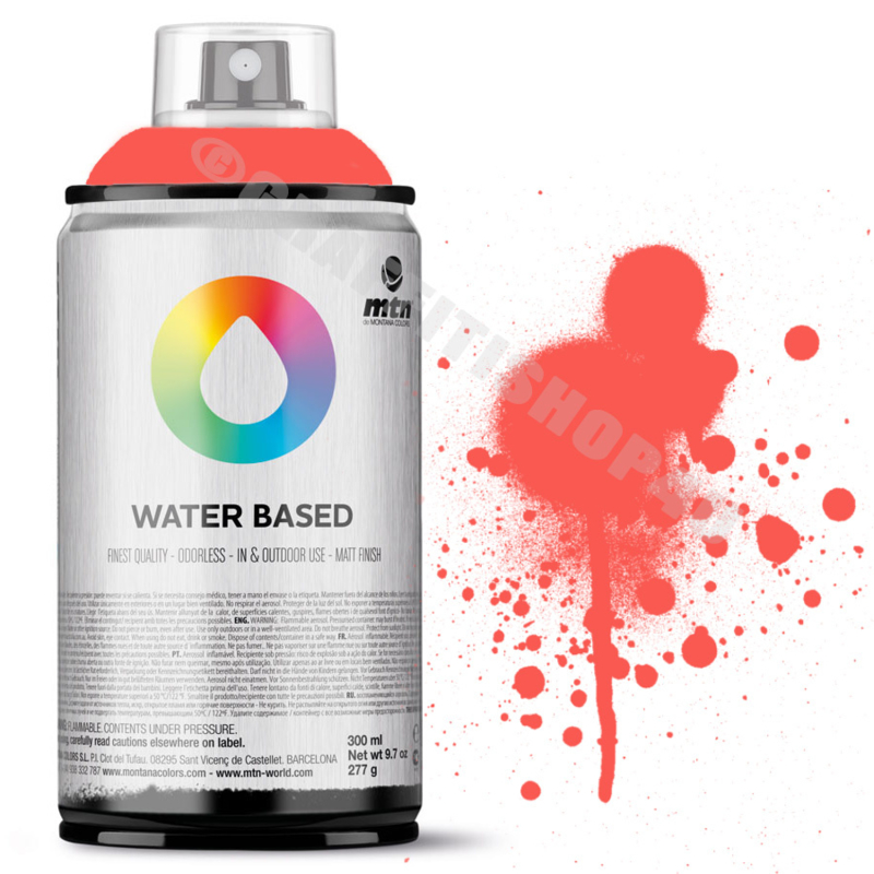 MTN Water Based Fluor Red