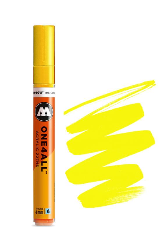 Molotow 227HS Neon Yellow Fluorescent
