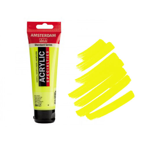 Amsterdam Acryl 120ml Fluor Yellow