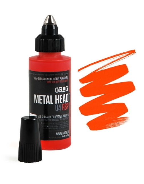 Grog Metalhead Marker Foundry Orange