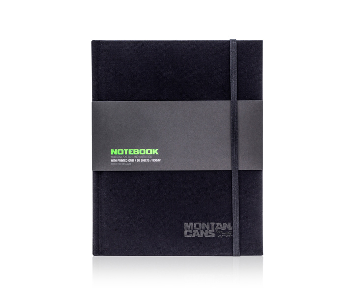 Montana Notebook A6 Plain