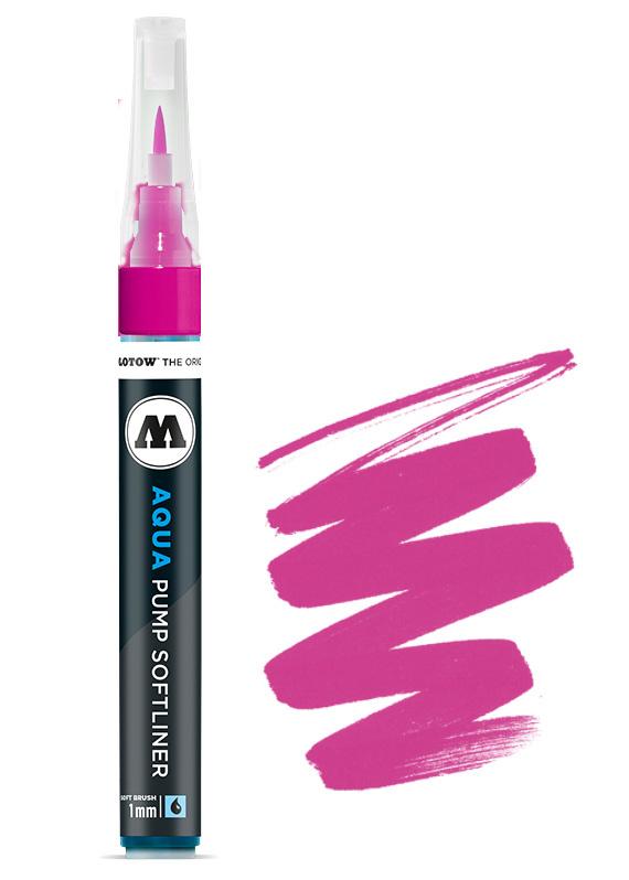 Aqua Ink Pump Softliner 1MM Pink