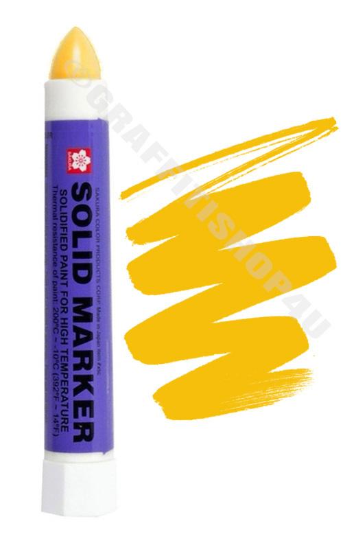 Sakura Solid Marker Yellow