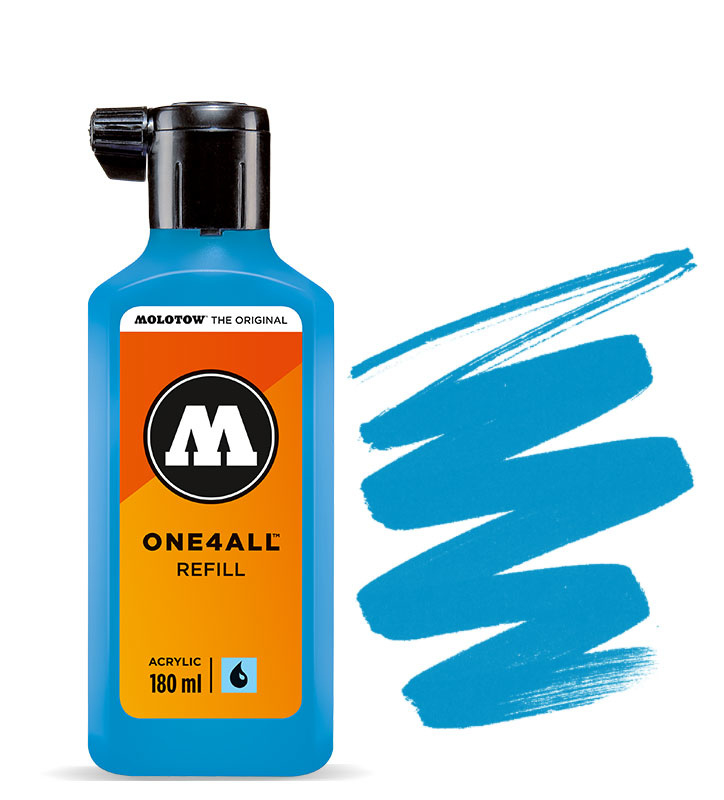 Molotow refill 180ml Shock Blue Middle