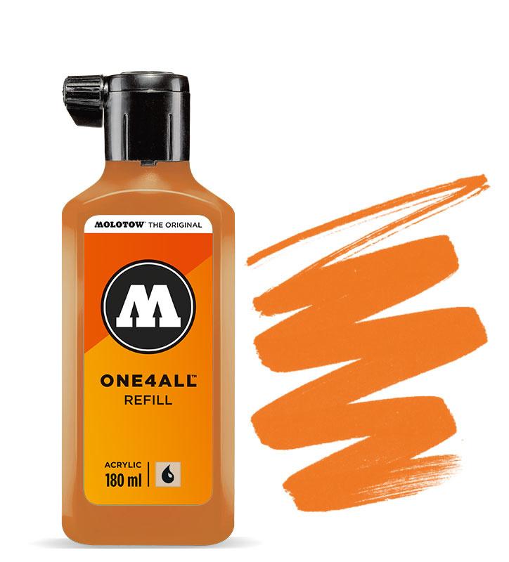 Molotow refill 180ml Dare Orange