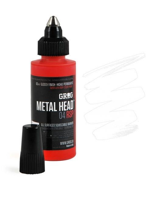 Grog Metalhead Marker Bogota White