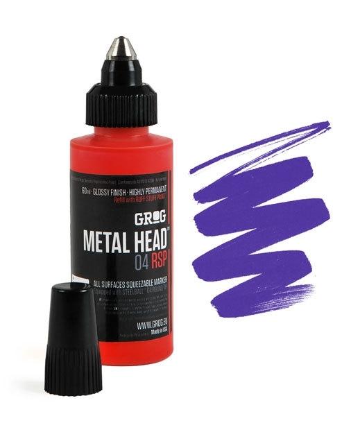 Grog Metalhead Marker Goldrake Purple