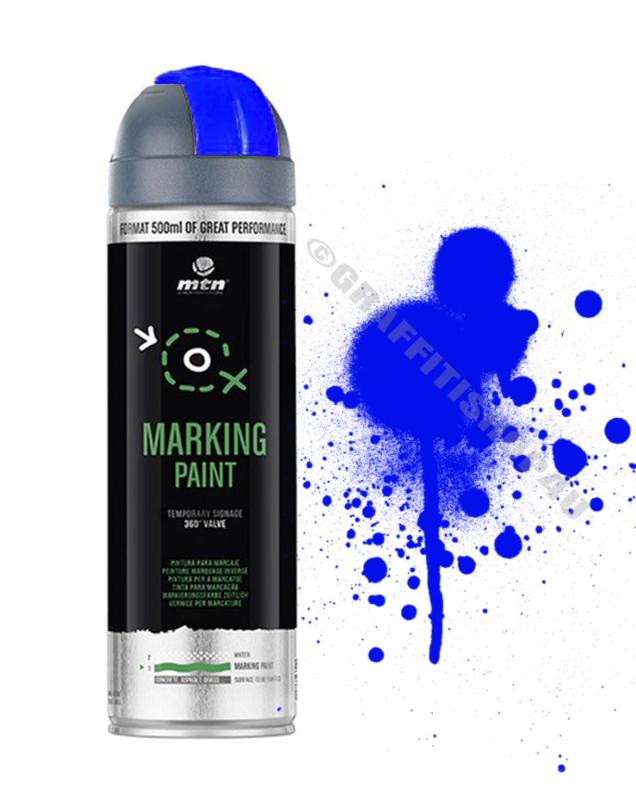 MTN  Markeringsverf  Reverse Fluor Blue