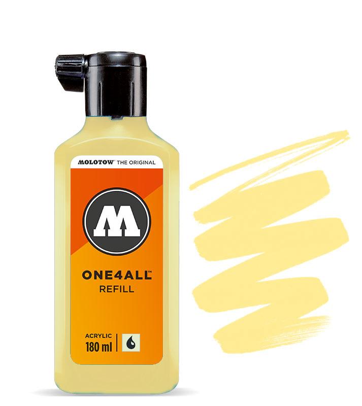 Molotow refill 180ml Vanilla Pastel