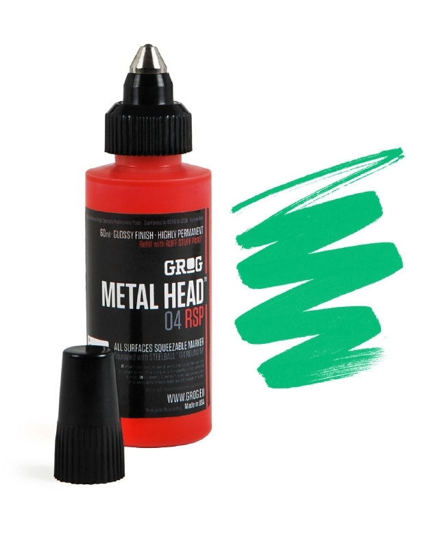 Grog Metalhead Marker Obitory Green