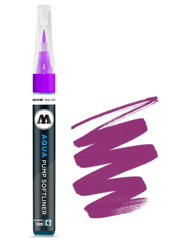 Aqua Ink Pump Softliner 1MM Purple