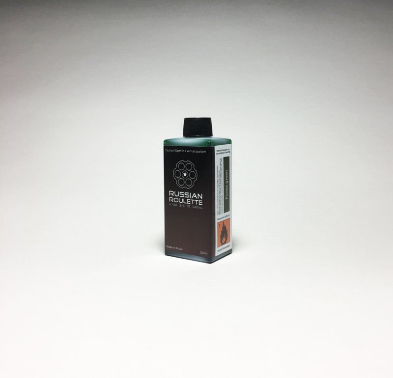 Russian Roulette Forest Green ink 200ml