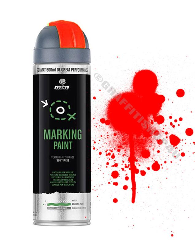 MTN  Markeringsverf  Reverse Fluor Red