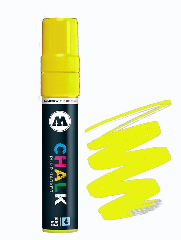 Molotow Chalk Marker 15mm Neon Yellow