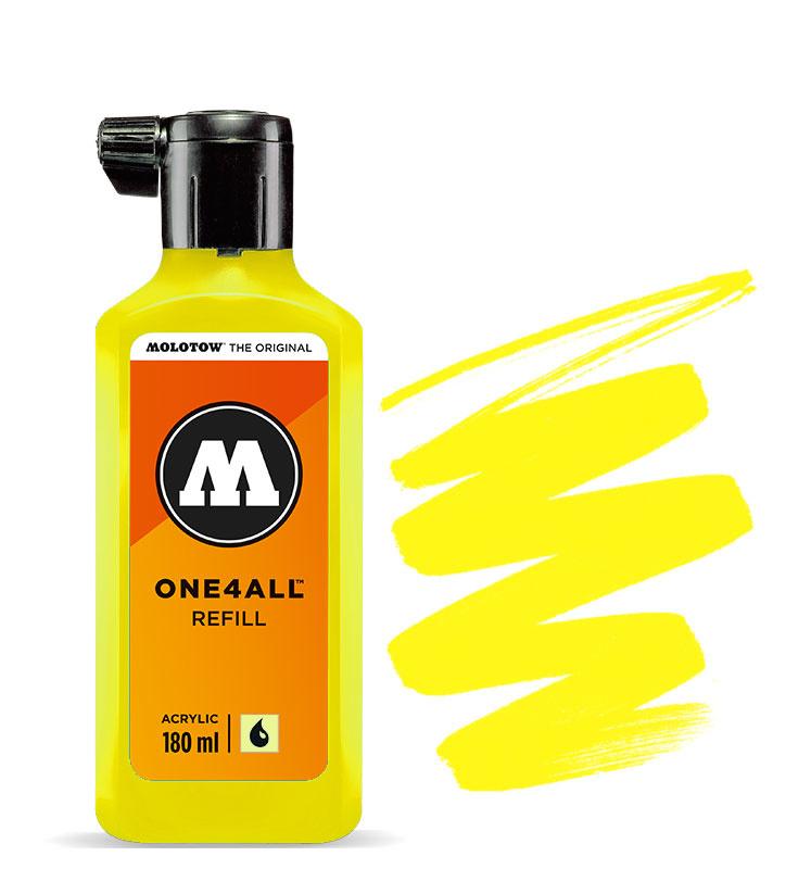 Molotow Refill 180ml Zinc Yellow