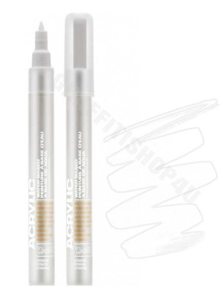 Montana Acrylic Marker 0,7mm  SH9120 White pure