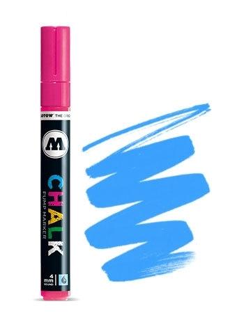 Molotow Krijt Marker 4mm Fluor Blauw