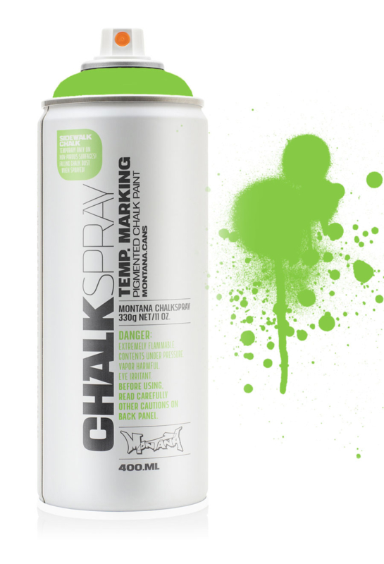Montana Krijtspray Green