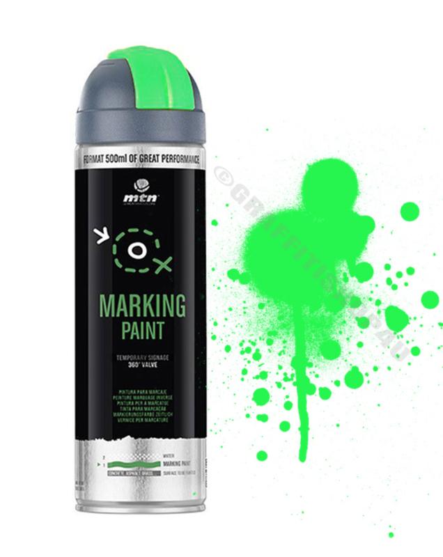MTN  Markeringsverf  Reverse Fluor Green