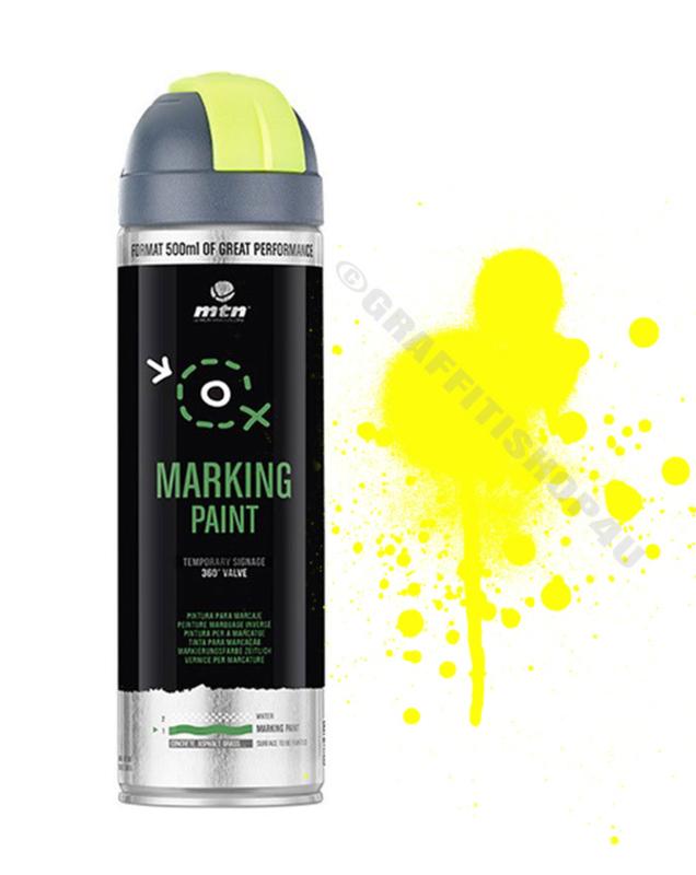 MTN  Markeringsverf  Reverse Fluor Yellow
