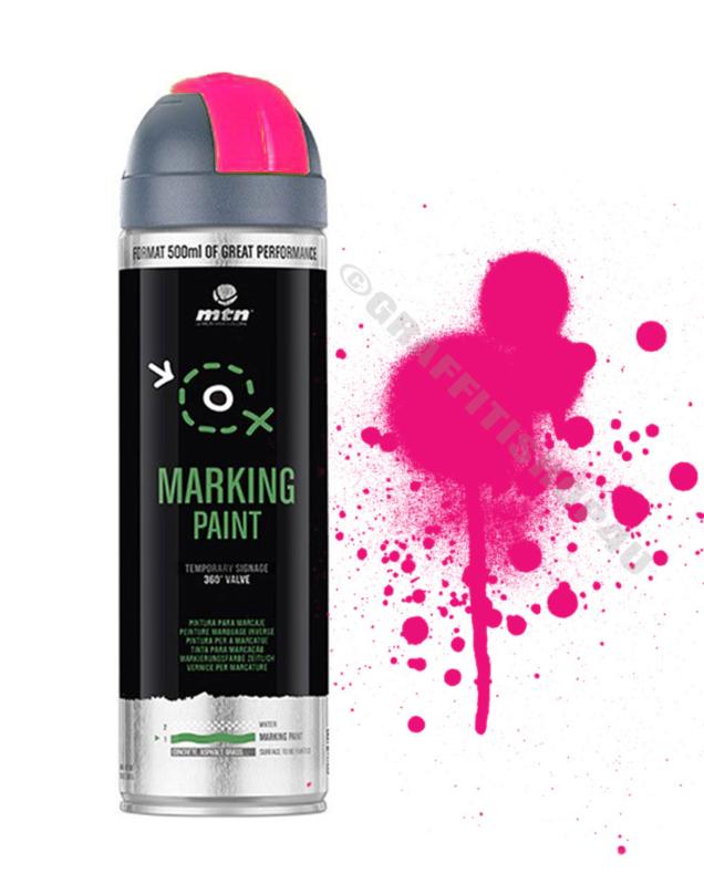 MTN  Markeringsverf Reverse  Fluor Pink