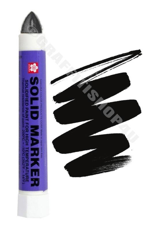 Sakura Solid Marker Black