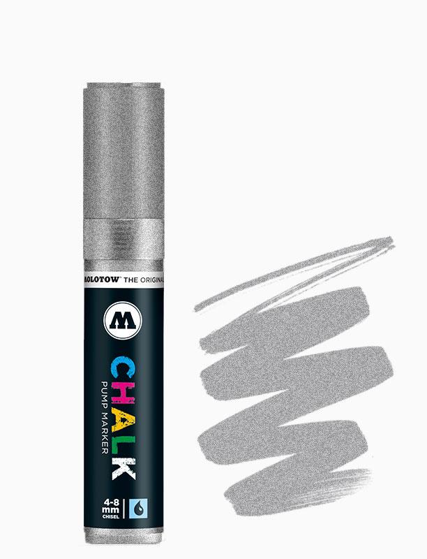 Molotow Chalk Marker 4-8mm Zilver