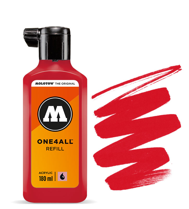 Molotow refill 180ml Traffic Red