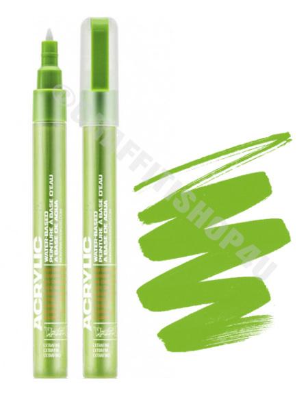 Montana Acrylic Marker 0,7mm  SH6000 Green Light